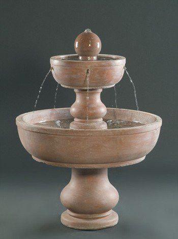 2 Tier Alonzo Garden Water Fountain Garden Water Fountains Fountain Water Garden