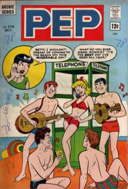 Pep Comics Covers #150-199