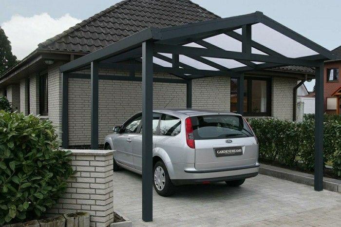Aluminium carport bausatz exterieur außenbereich outdoor