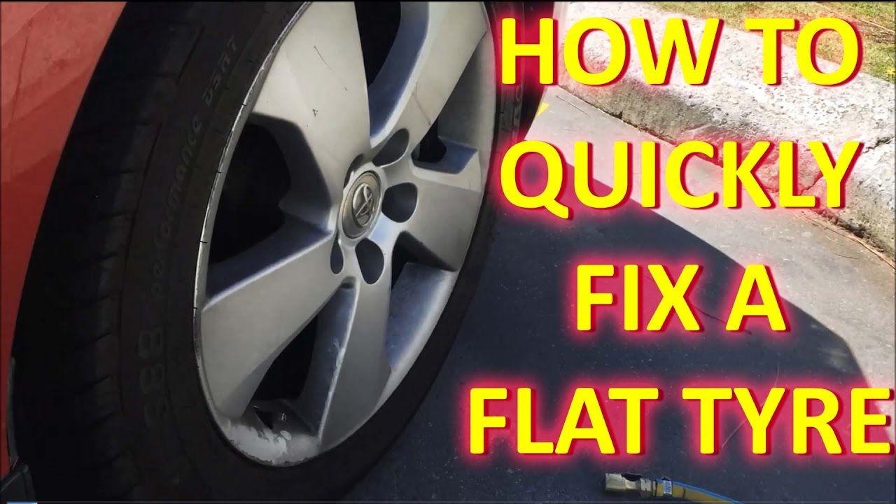 How to fix a FLAT TYRE (VALVE Leak) Flat tire, Tire, Fix it