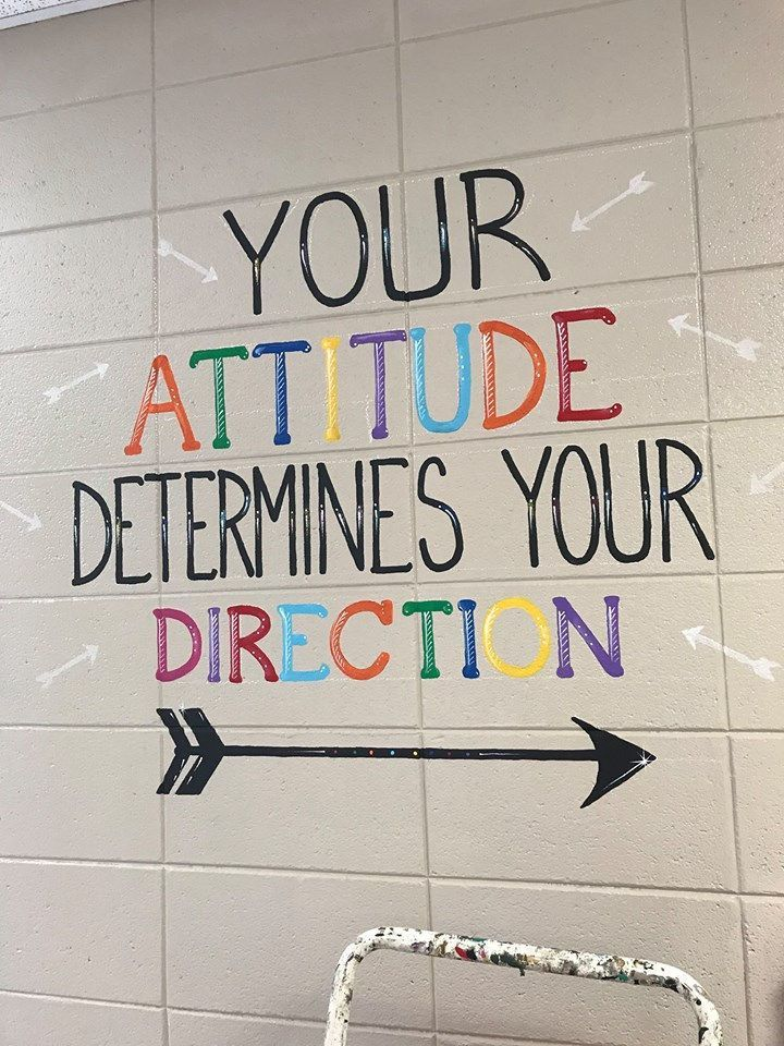 The inspirational quotes on the wall of this Alabama school are giving us all the feels