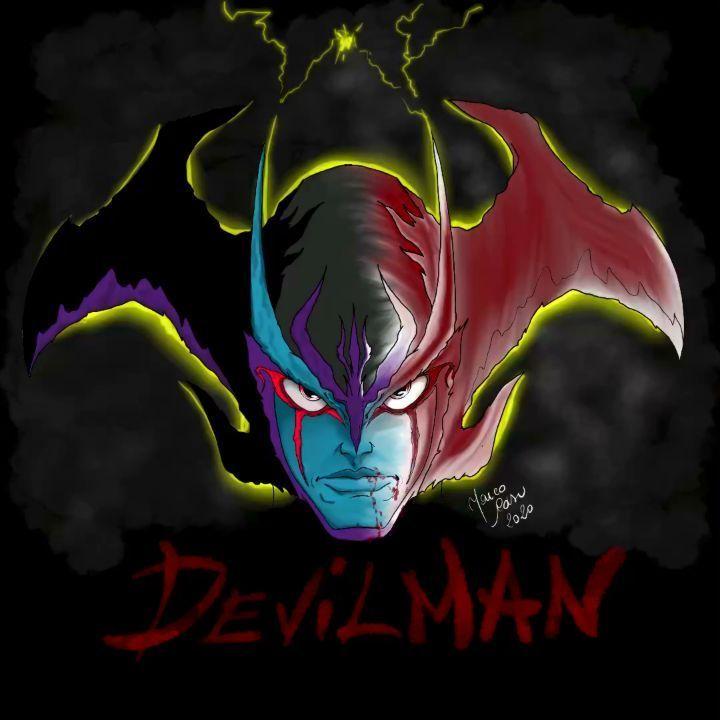 Photo of My Devilman . . . . . . #adobe #adobeillustrator #adobephotoshop #photoshop #pen…