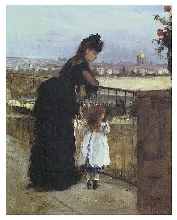 On The Balcony By Berthe Morisot V 2020 G Kartiny V Stile