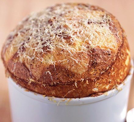 classic cheese souffle | recipe | spinach, left over and classic