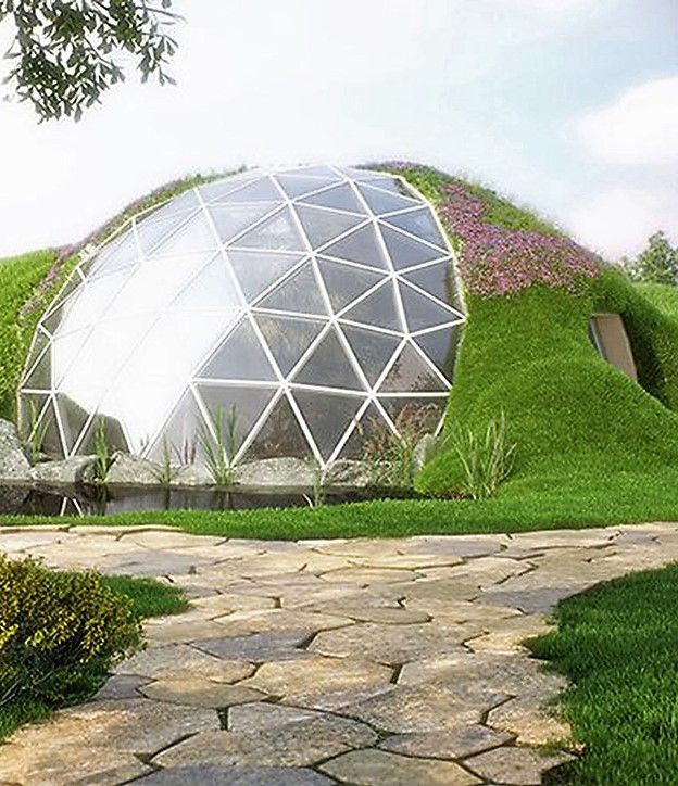 Dome House Futuristic: Biodomes Glass Geodesic Dome Homes