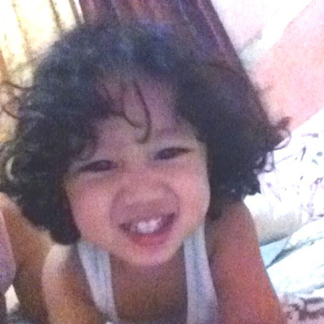 My Nephew Smiling