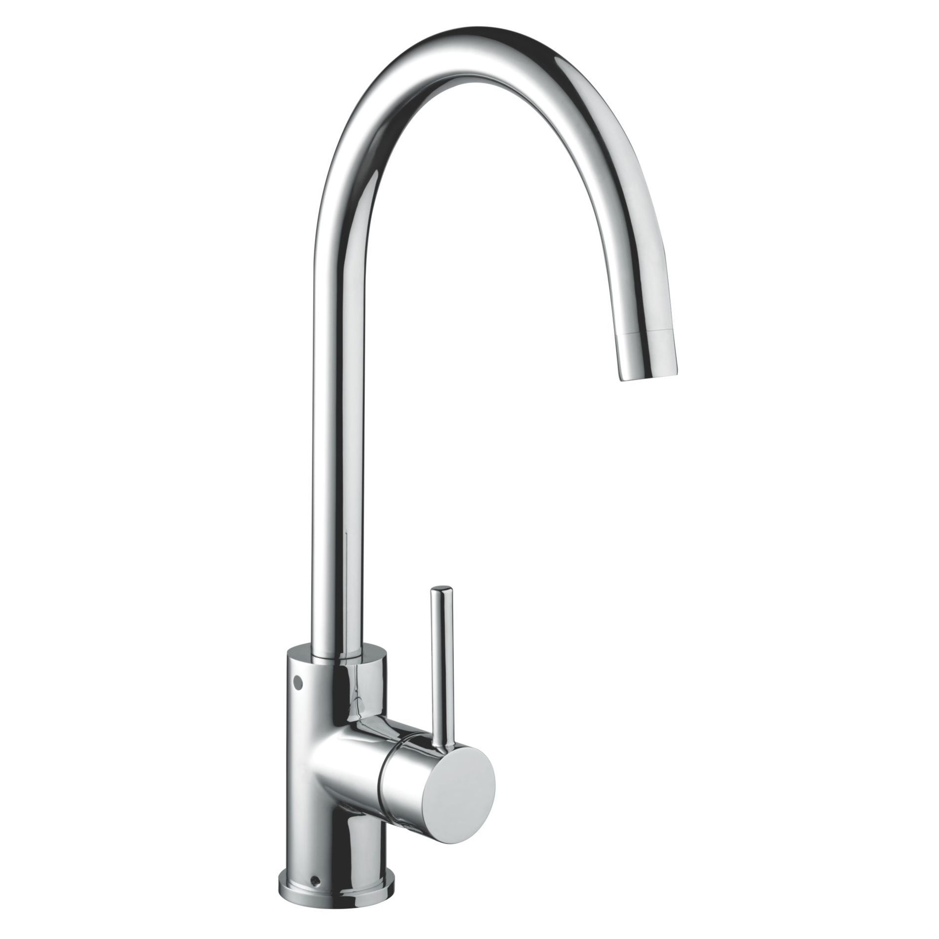Bristan chrome lever mixer tap departments diy at bq kitchen bristan chrome effect lever mixer tap bq for all your home and garden supplies and advice on all the latest diy trends workwithnaturefo