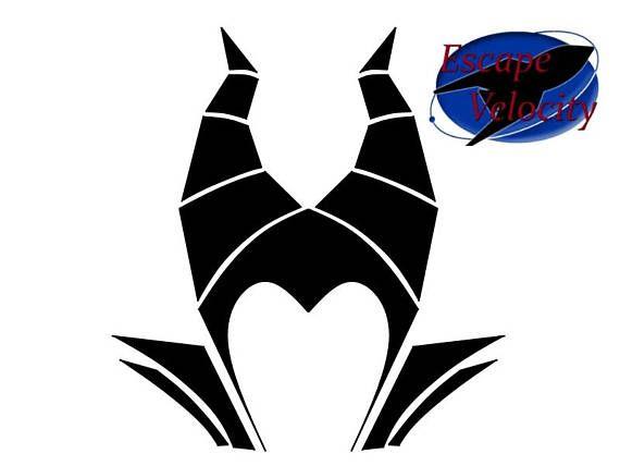 Maleficent Monogram Castle Cut File For Silhouette Cricut