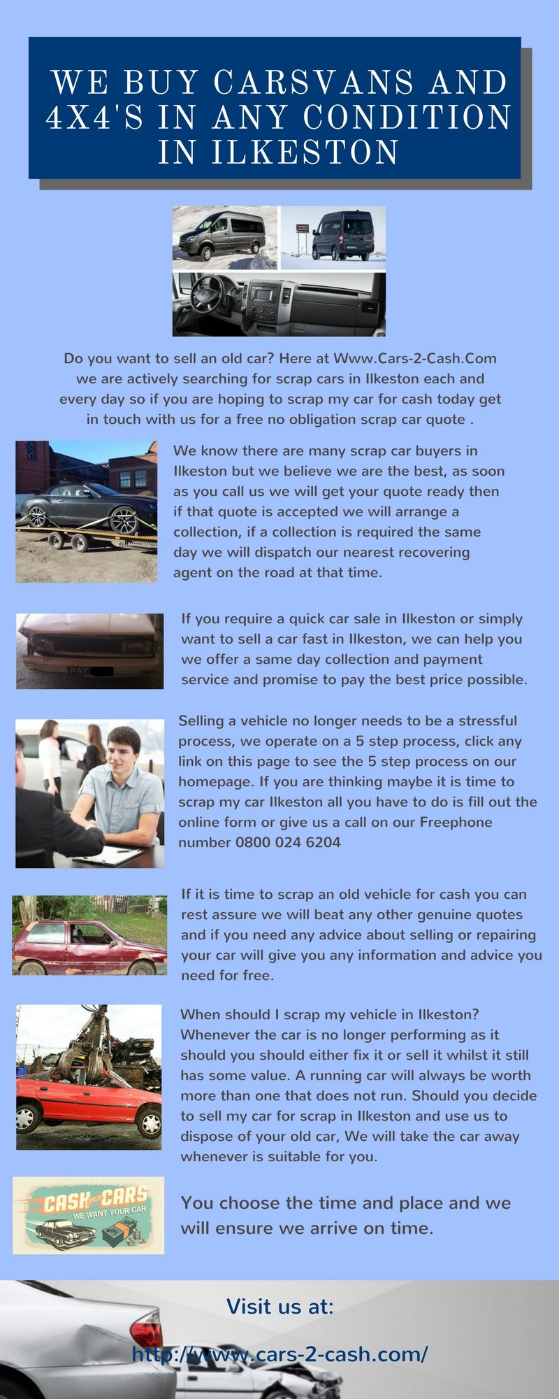 Do you want to sell an old car? Here at Www.Cars-2-Cash.Com we are ...