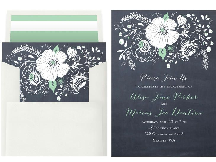 5 Online Invitation Sites We Love Engagement, Wedding and Weddings - free engagement invitations