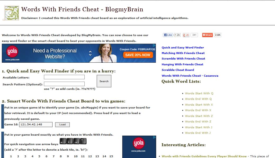 smart cheat board