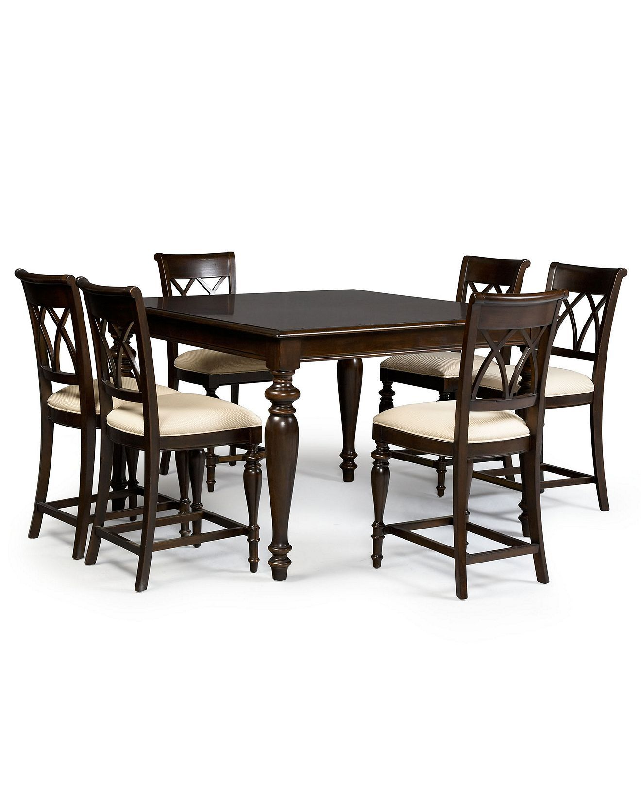 B 1700 Bradford Dining Room Furniture 9 Piece Gathering Set Table And 8 Chairs Dining Room Furniture Country Dining Tables Modern Dining Chairs
