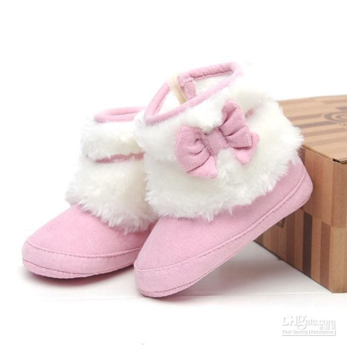 7d199c757814 High Quality Winter Casual Pink Cotton Baby Girl Boots Ideas with ... baby  boots