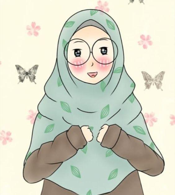 Kumpulan Gambar Kartun Muslimah Couple Bercadar Cara Baruq ...
