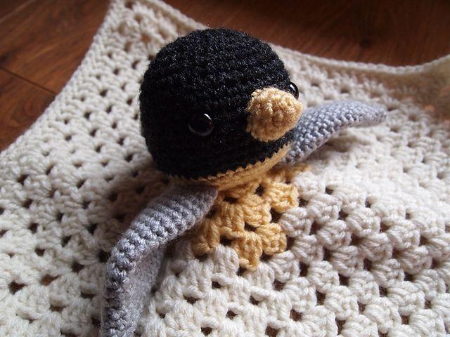 Penguin Security Blankie Lovey Doll pattern by Heather Jarmusz ...