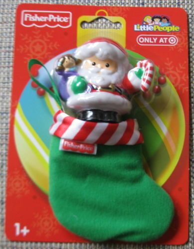Fisher Price Little People Christmas Stocking Santa Toy Holiday  in Toys & Hobbies, Preschool Toys & Pretend Play, Fisher-Price, 1963-Now, Little People (1997-Now) | eBay