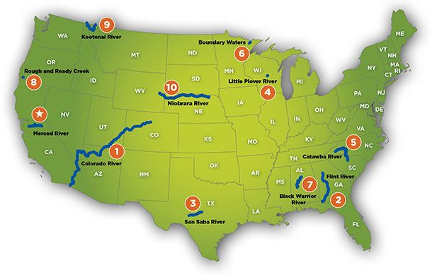 Americas Most Endangered Rivers® 2013 | Environmental Impacts