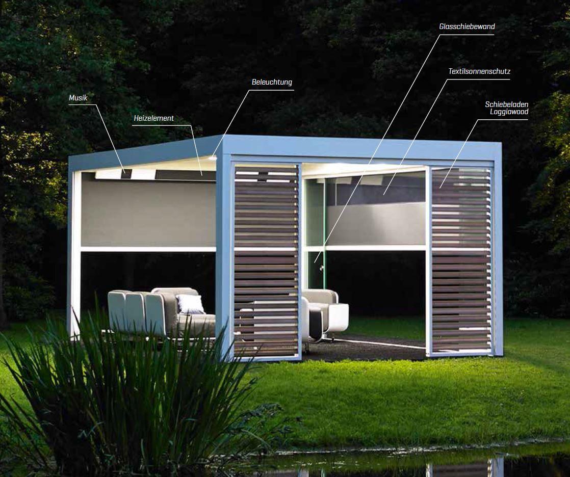 renson camargue terrassen berdachung das innovative lamellendach mit einer innovativen. Black Bedroom Furniture Sets. Home Design Ideas