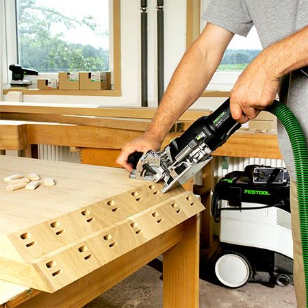 Take Furniture Manufacture To The Next Level With A Festool Domino Joiner.