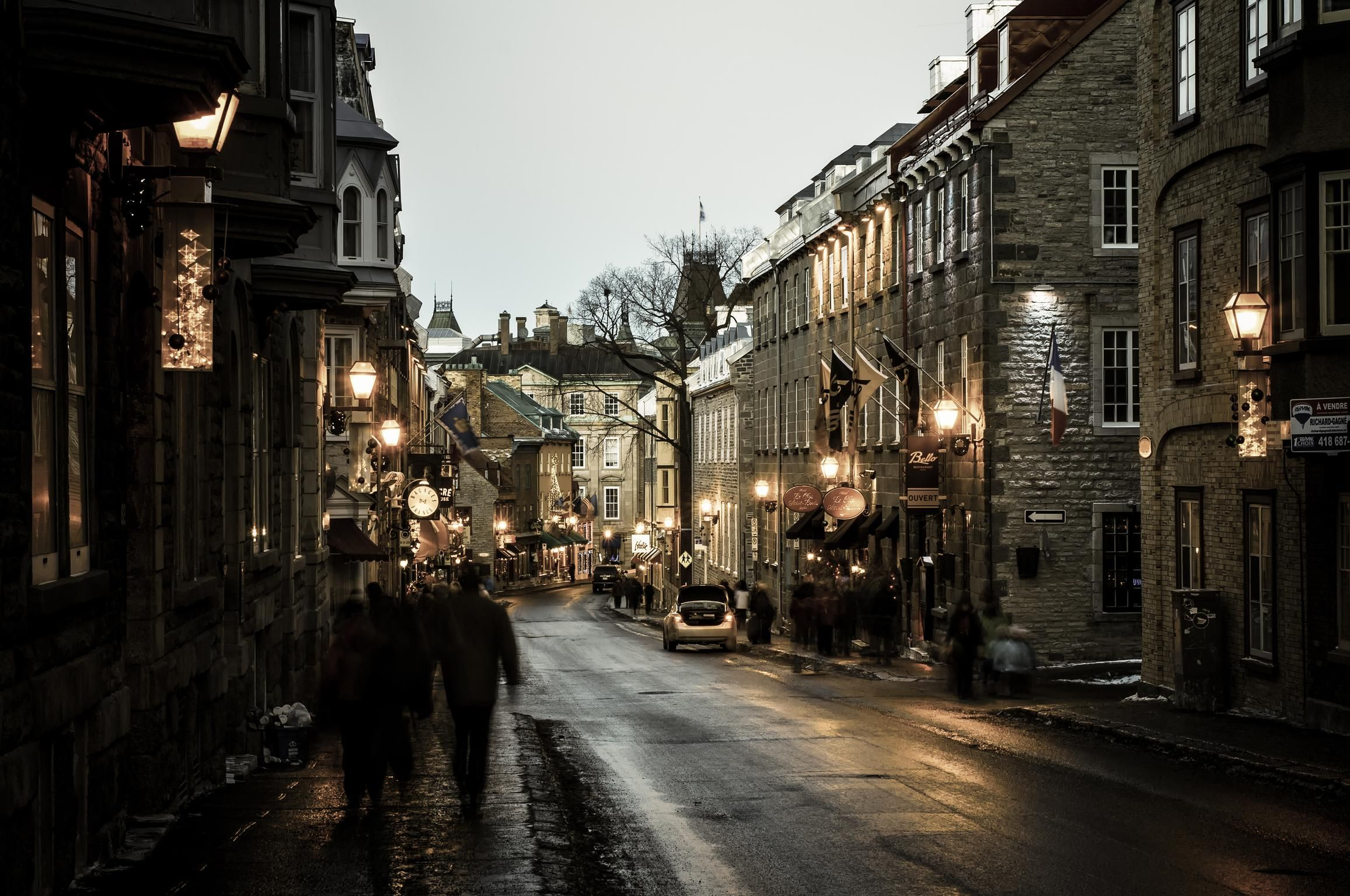 A Winter S Day Quebec City Quebec City Travel Photography Street Pictures