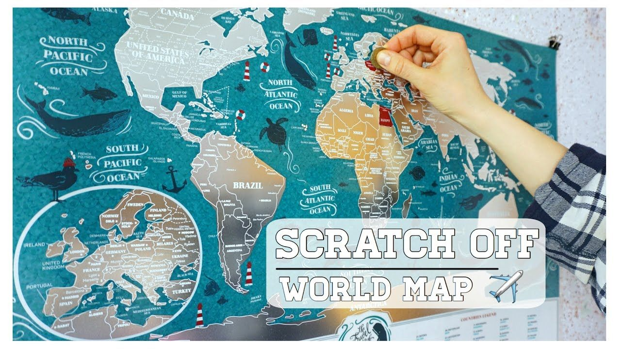 Marine scratch off map of the world by 1dea travel marine marine scratch off map of the world by 1dea gumiabroncs Gallery