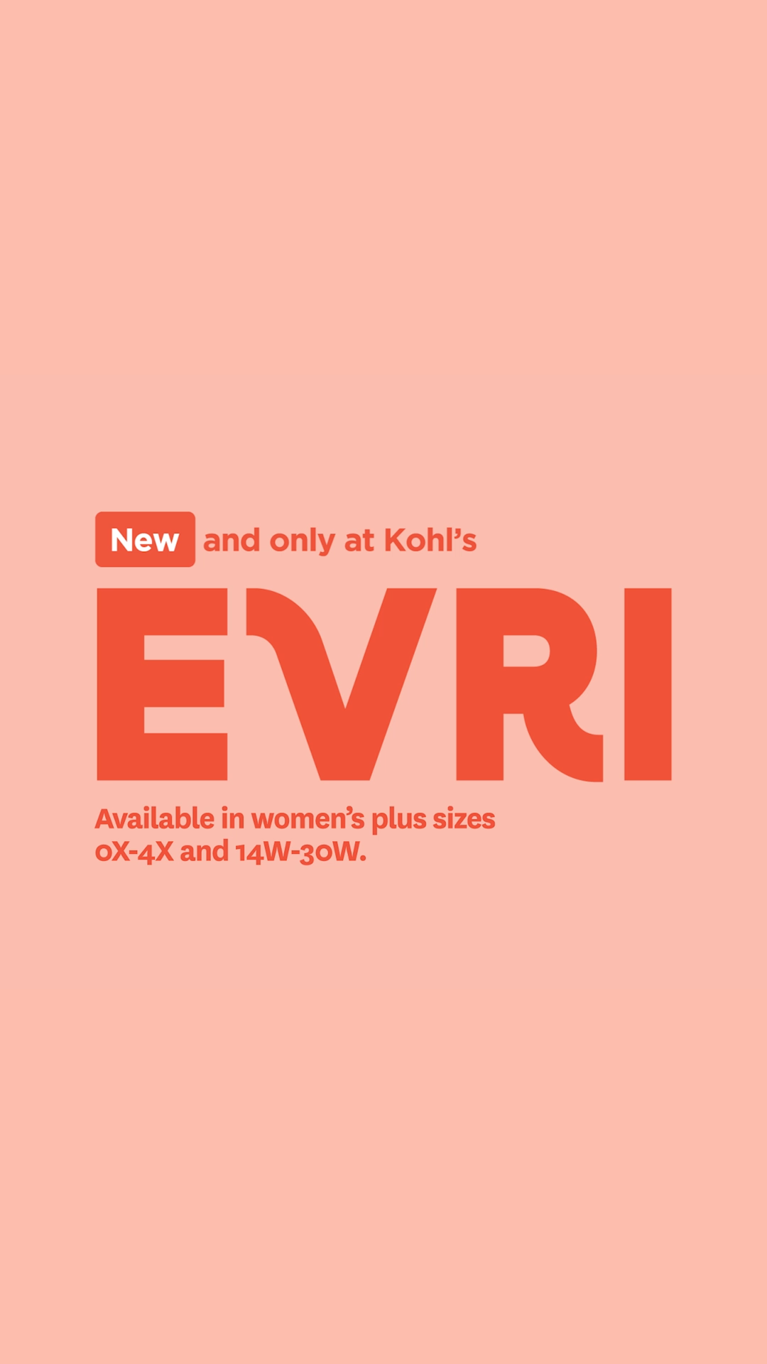 Introducing Evri Our New Women S Plus Collection Available Only At Kohl S In Women S Plus Sizes 0x 4x A Video Plus Clothing Farmers Market Outfit Movie Night Outfits