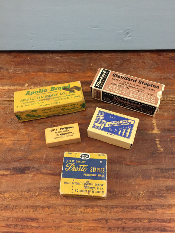 This Is An Amazing Set Of Vintage Desk Supplies That Would Be Great For  Photography Props Or Film Props! The Are Original Vintage Items That I Got  From An ...