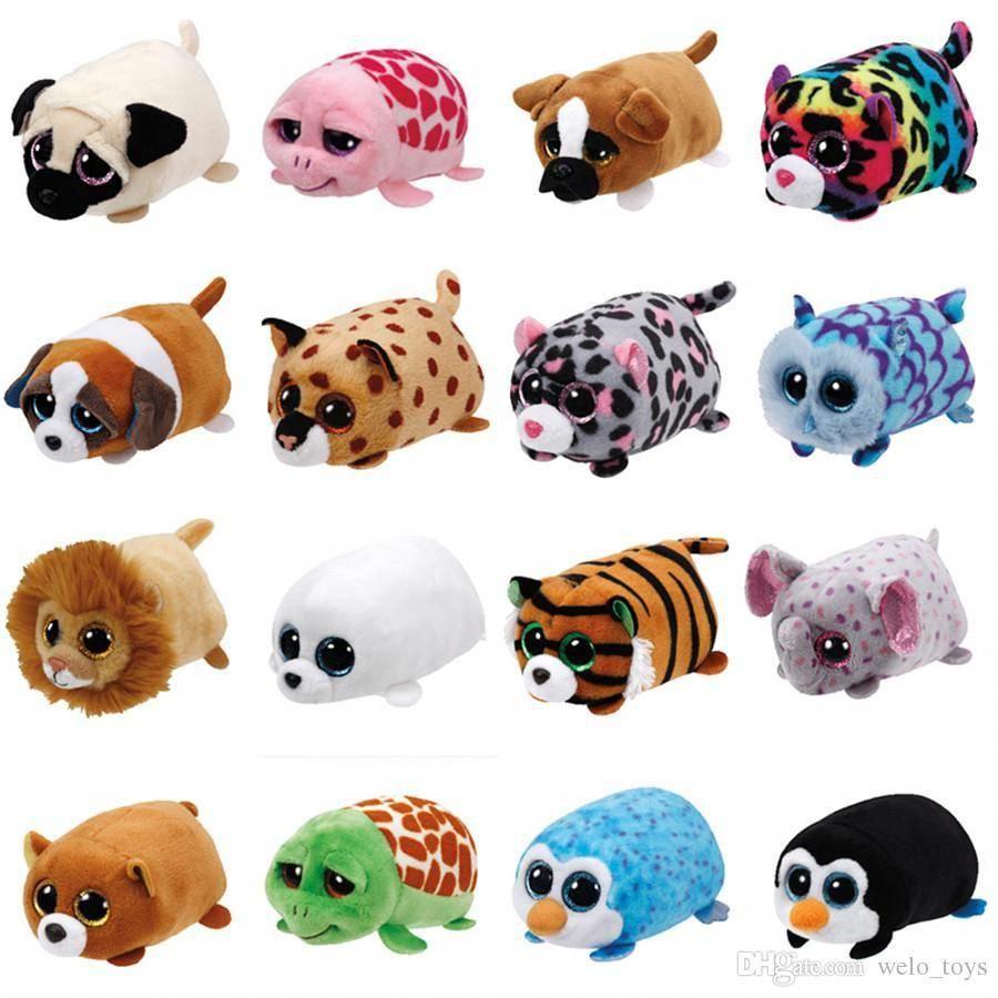 "TY Beanie Boos Teeny Tys 4/"" OLIVIA Leopard Stackable Plush Stuffed Animal Toy"