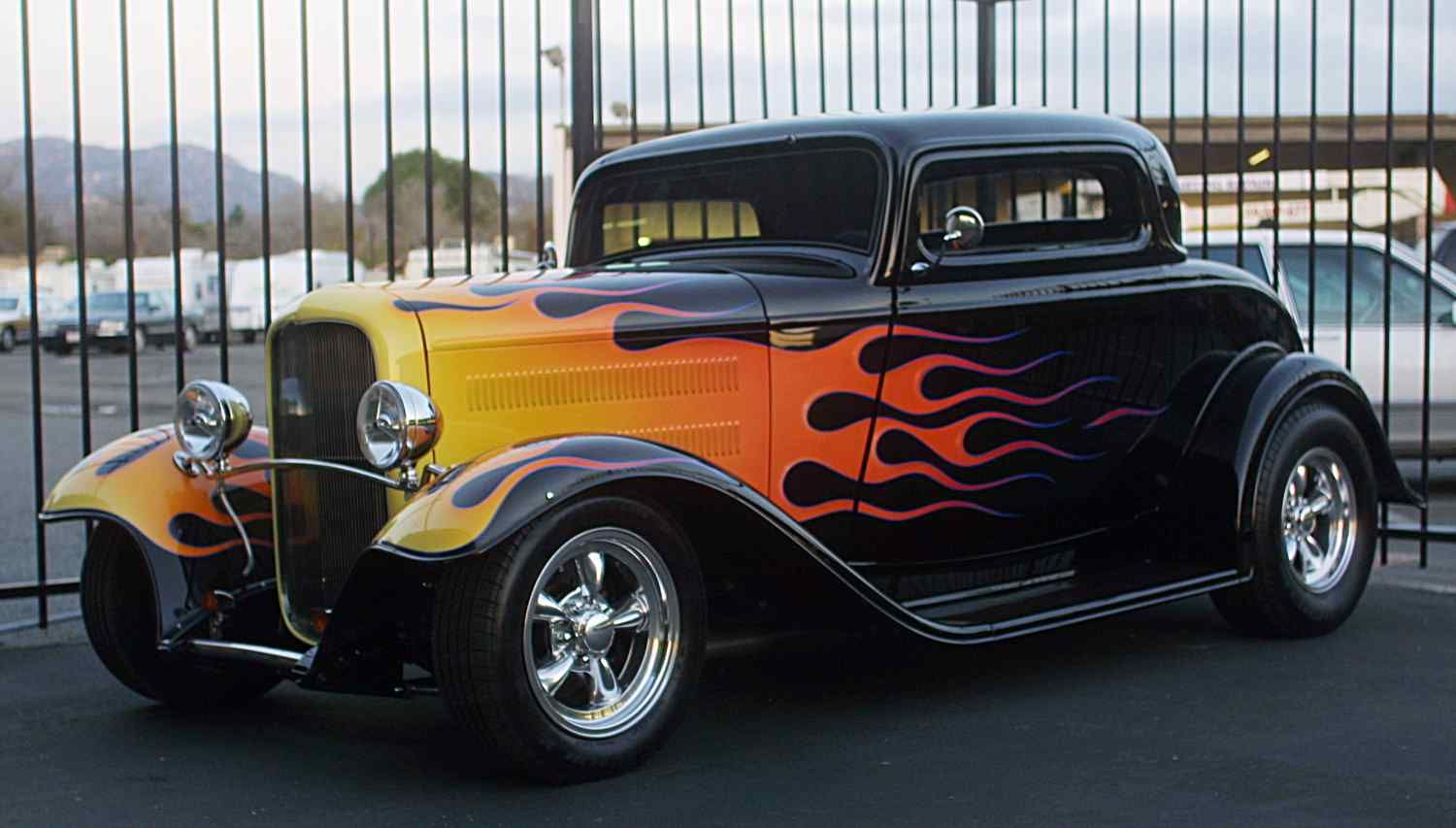 Classic The Flame And Street Rods On Pinterest
