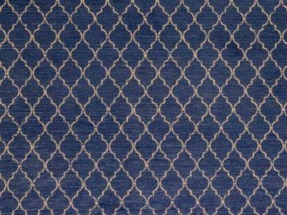 navy blue chenille curtain fabric