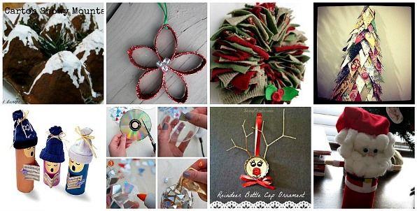 Lavoretti Creativi Natale Natale Riciclo E Creativo