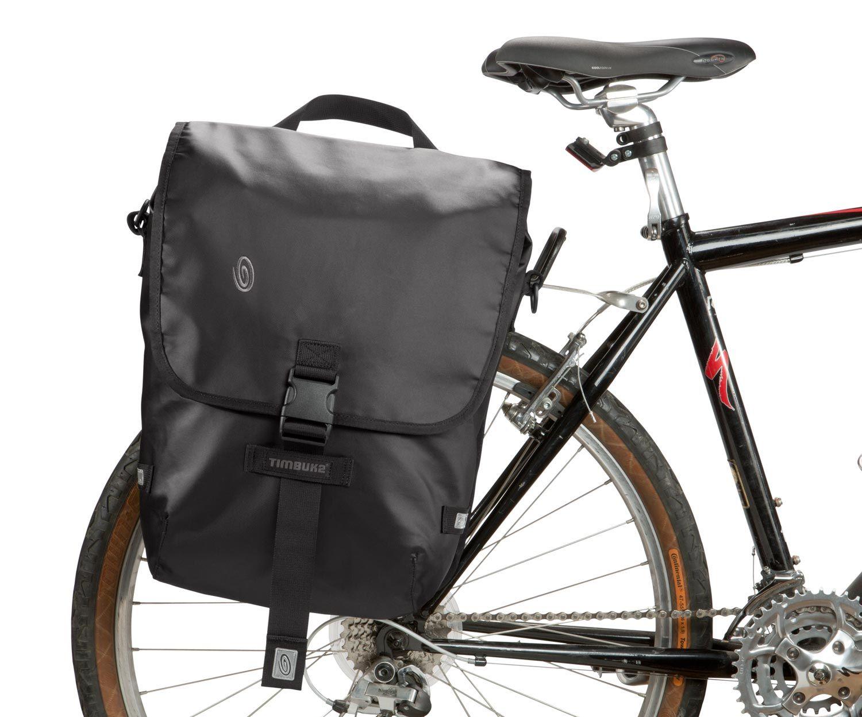 A Weatherproof Laptop Pannier With Fast Clip Bike Attachment