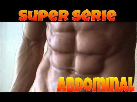 como é um músculo abdominal rasgado