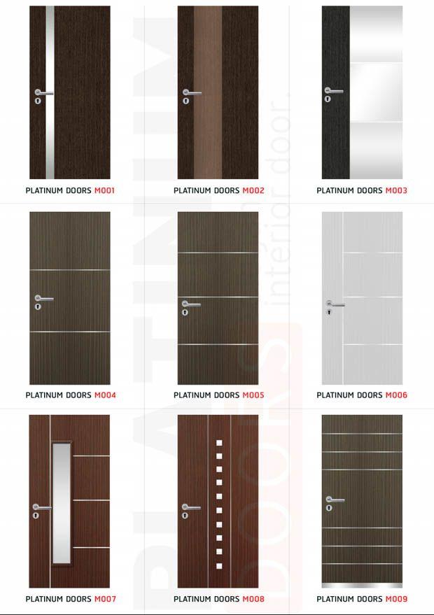 Modern Design Doors การออกแบบหน าบ าน ประต ภายใน ด ไซน
