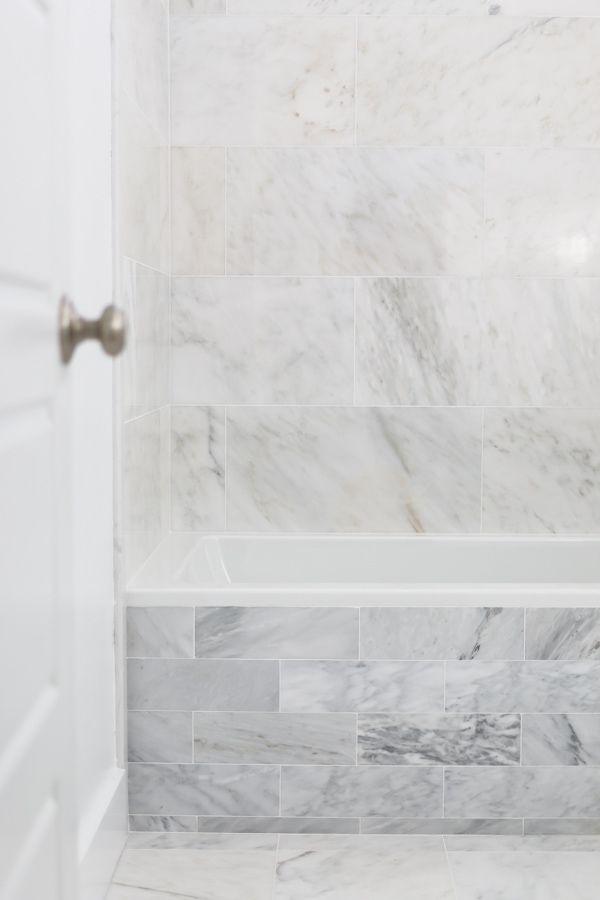 How To Install Marble Tile Design Bathroom Pinterest Marble