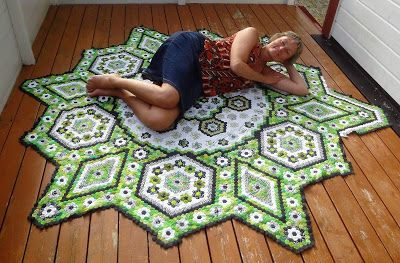 "Hexagonquilt ""La Passion"": 8600"