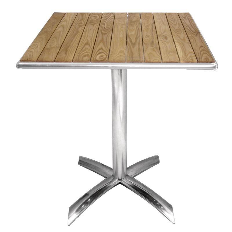 Bolero Ash Flip Top Square Bistro Table 600mm