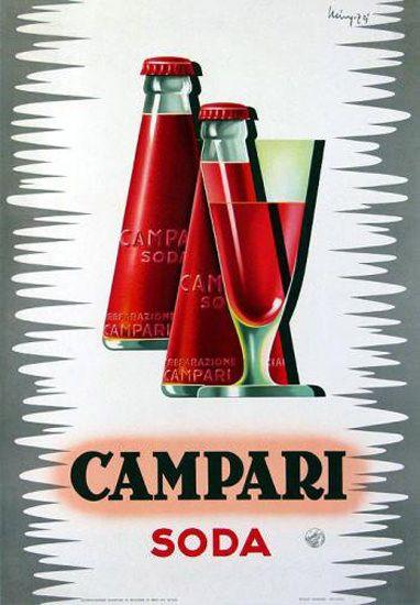 Campari Soda 1924 - Mad Men Art: The 1891-1970 Vintage Advertisement Art Collection