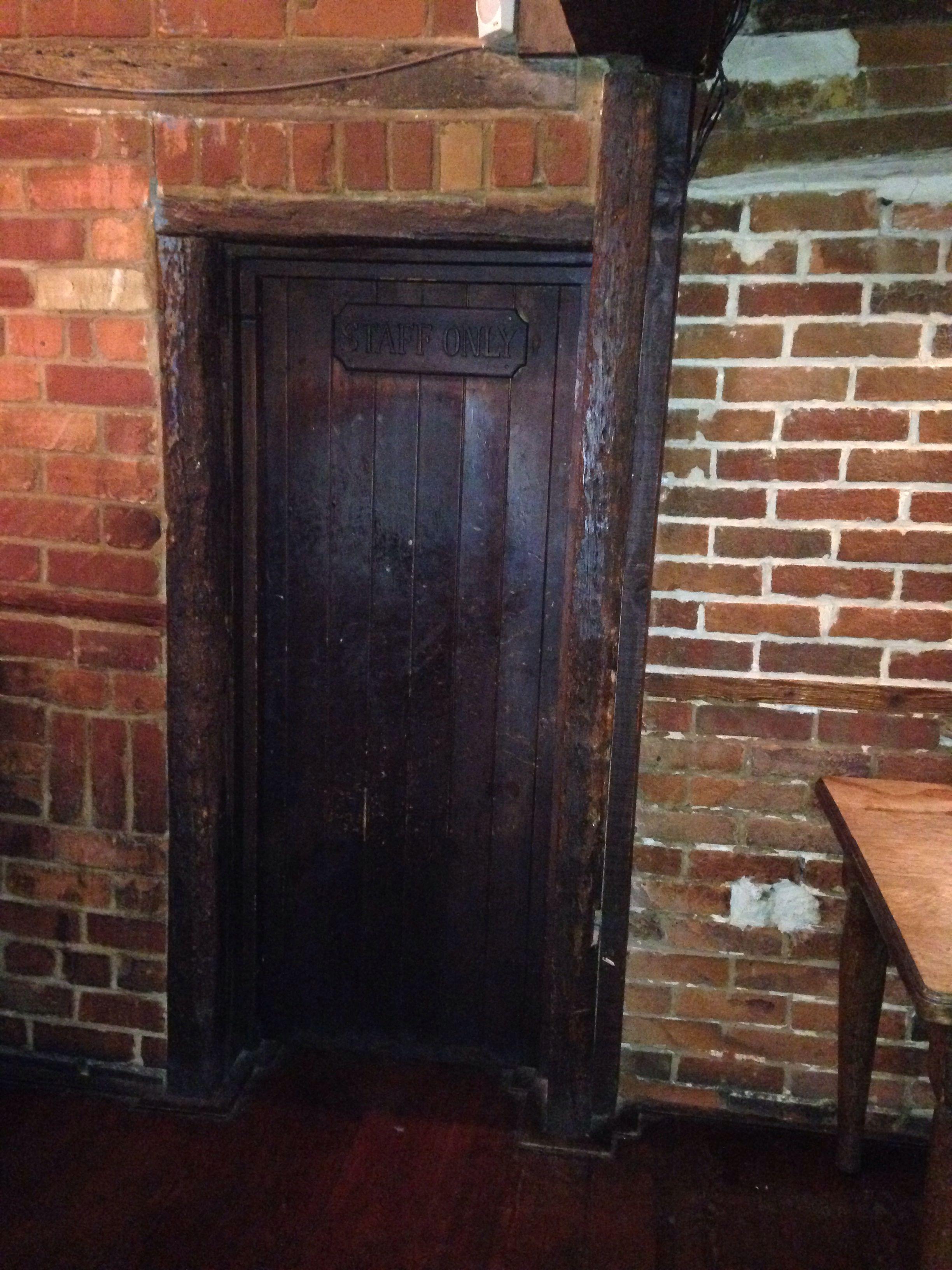 Little Door, Railway Sleeper Frame
