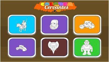 Tic colorea Cervantes también en http://www.educa.jcyl.es/educacyl/cm/gallery/Recursos%20Infinity/aplicaciones/16_infantil_coloreacervantes/index.html