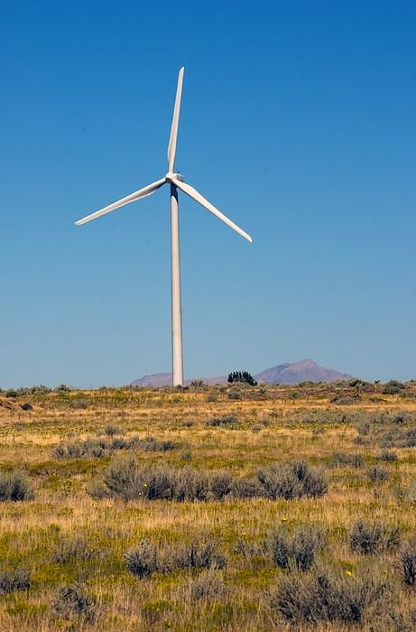 Wind Mill at Tooele Army Depot