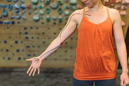 Hang Right - the cause of nagging elbow pain in climbers and what to do about it