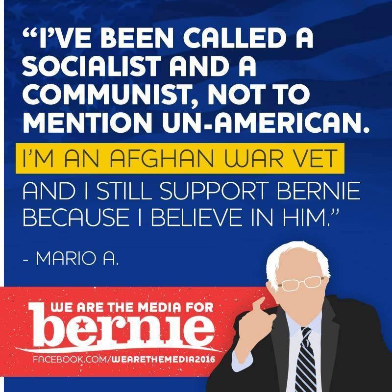 Believe In Bernie Sanders War Vet Believe Afghan War