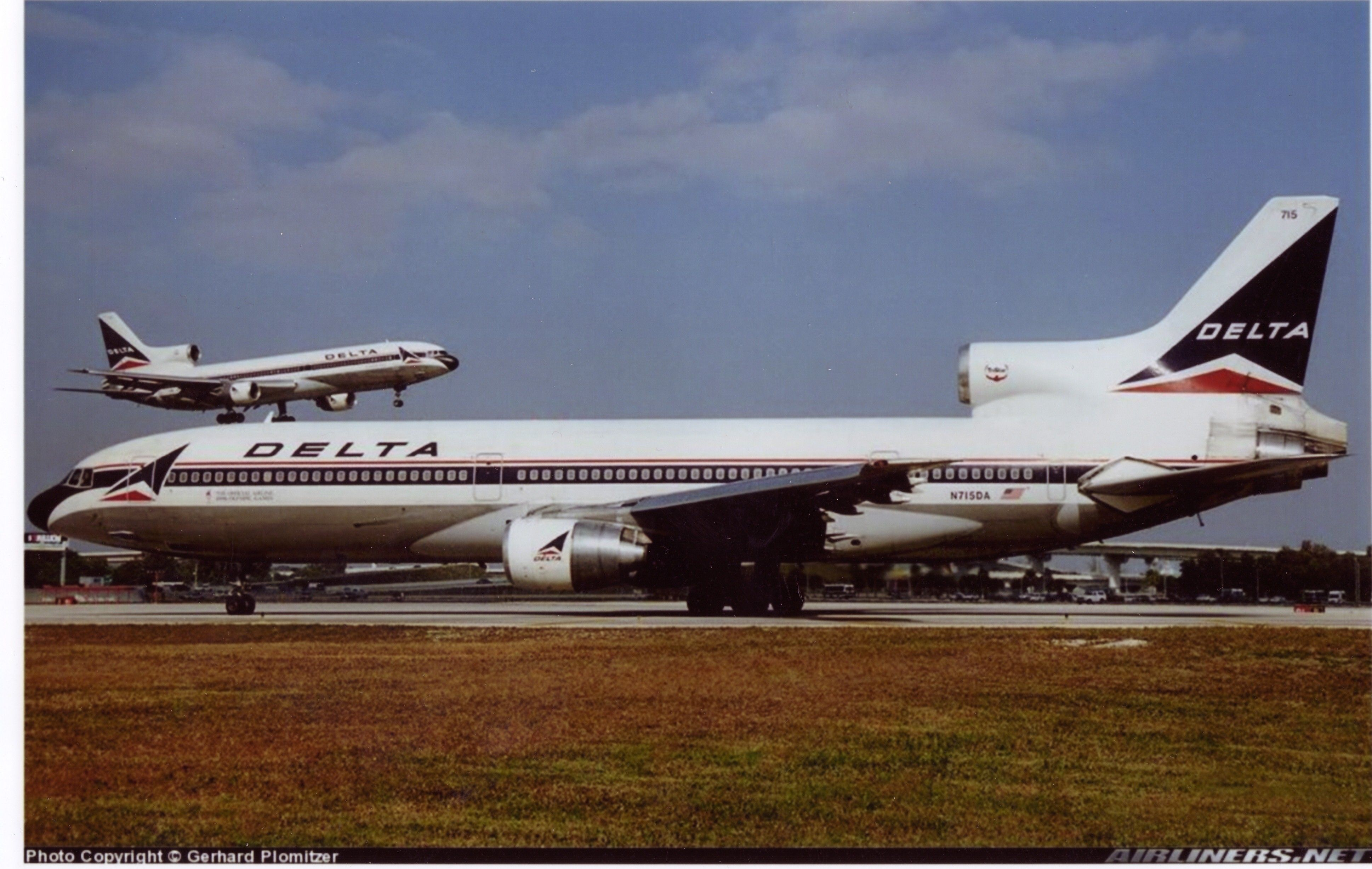 Delta Airlines L1011's at LAX (With images) Delta