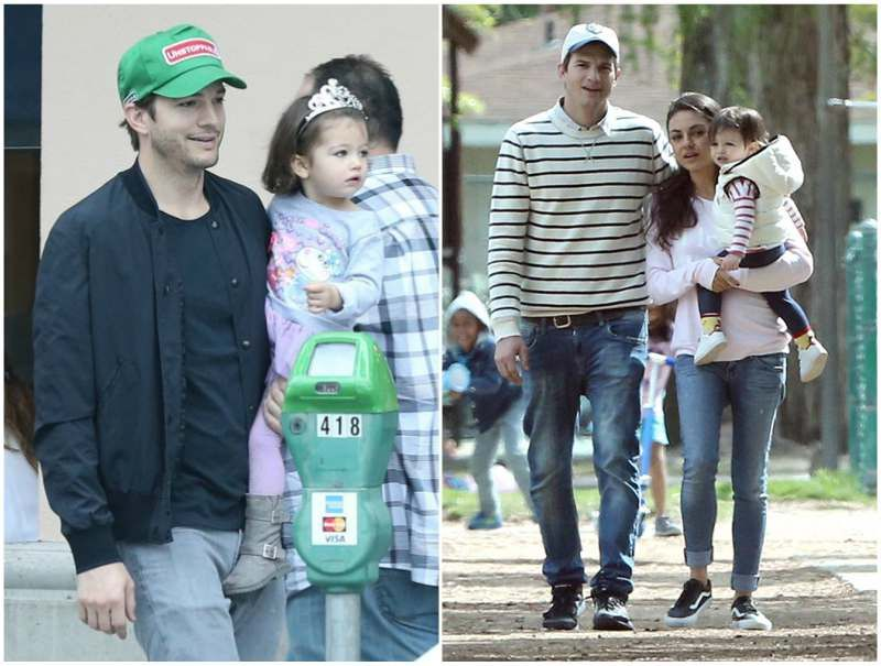 Actor Ashton Kutcher And His Family Parents Siblings Wife Kids
