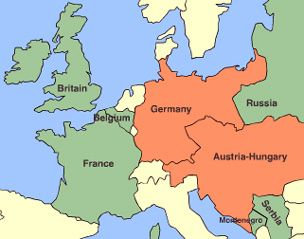 BBC History World Wars Animated Map The Western Front 1914