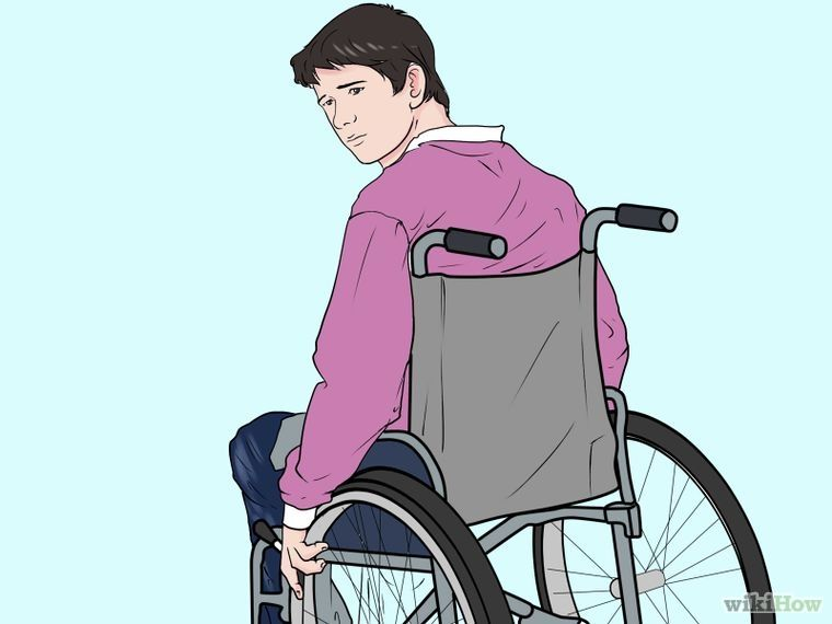 How To Interact With A Person Who Uses A Wheelchair Character Design Medical Art Boy Art