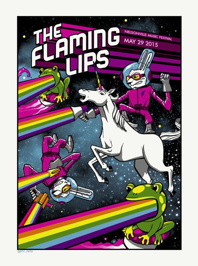 The Flaming Lips, Nelsonville Music Festival 2015