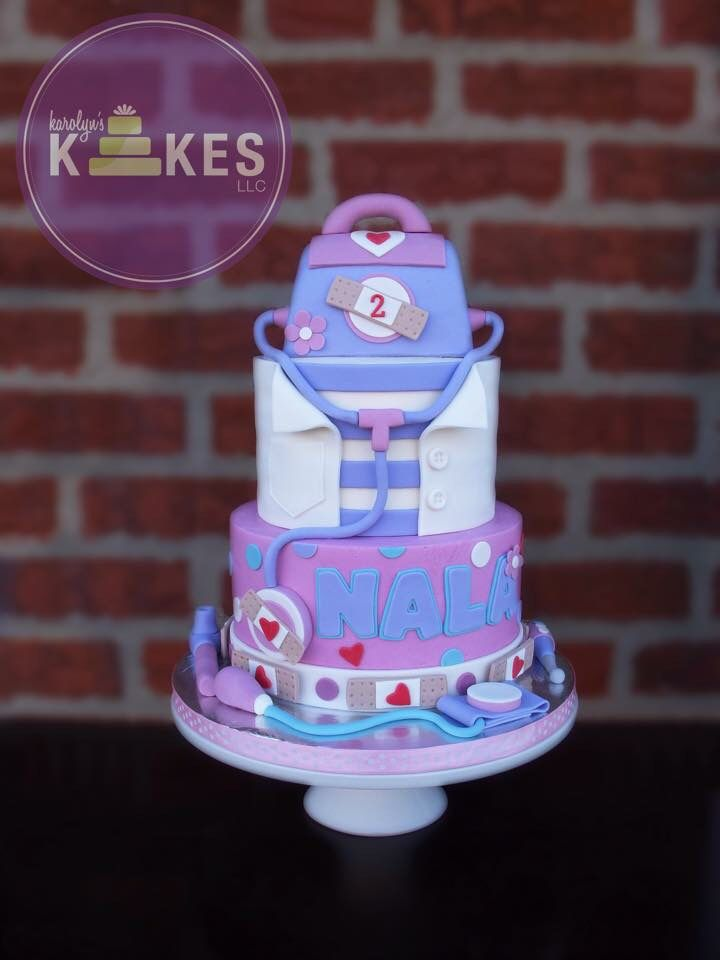Doc McStuffins Cake Cakes for Girls Pinterest Doc mcstuffins