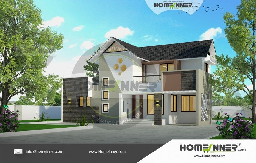 1400 Sq Ft 3 Bedroom Indian Beautiful Homes For Middle Class House Design Free House Plans Beautiful Home Designs